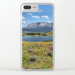 Summer in Waterton Clear iPhone Case