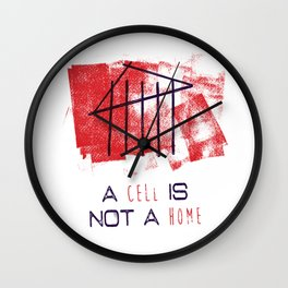 A Cell Is Not A Home Wall Clock