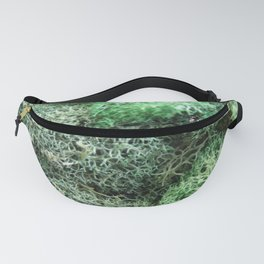 Delicate Green Moss Fanny Pack