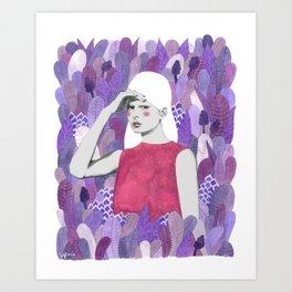 Dalila Art Print