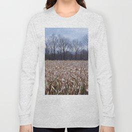 Field of Corn left Behind Long Sleeve T-shirt