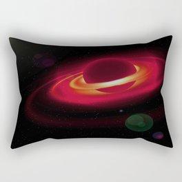 Gas Red Planet Rectangular Pillow