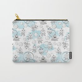 Octobaby Blues Carry-All Pouch