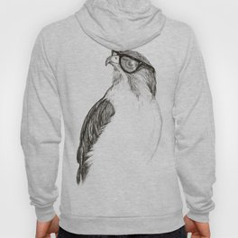 Hawk with Poor Eyesight Hoody