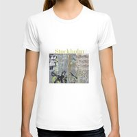 stockholm T-shirts featuring Graffiti, Stockholm by Susan in Paris
