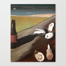 Oyster Bake  Canvas Print