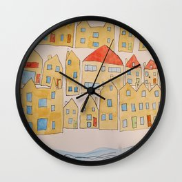 this town Wall Clock