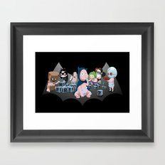 Batbaby Framed Art Print