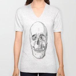 Skull Study Unisex V-Neck