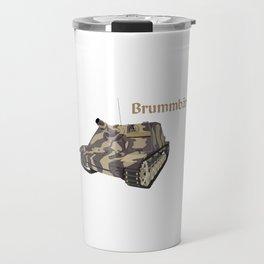 Brummbär German WW2 Armored Infantry Support Gun Travel Mug