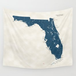 Florida Parks - v2 Wall Tapestry