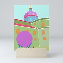 Salzburg Cathedral Mini Art Print