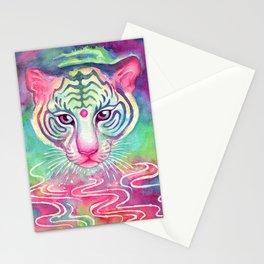 Rainbow Tigress Stationery Cards