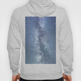 Starry sky with millions of stars, Milky Way galaxy Hoody