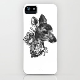 Fawn & Flora I iPhone Case