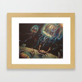 """Light Show"" Framed Art Print"
