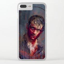 Sanguigno Clear iPhone Case