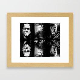 Horror Blankie Framed Art Print