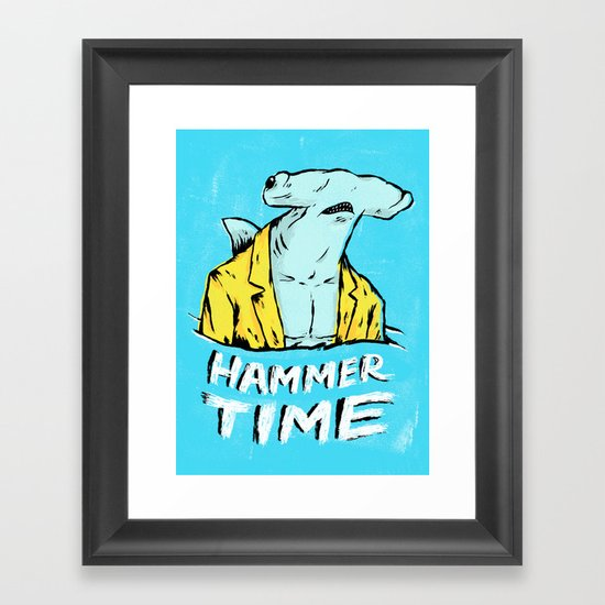 Hammer Time Framed Art Print