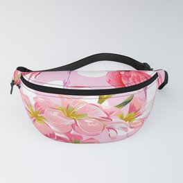 The Pink Flamingo's Party Fanny Pack