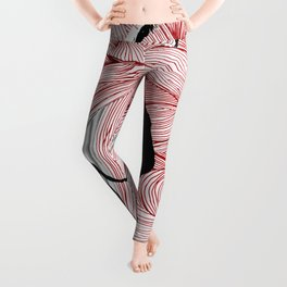 Red Hand Leggings