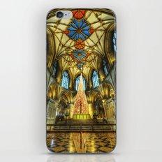 Tewkesbury At Christmas iPhone & iPod Skin