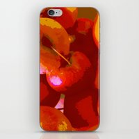 apple iPhone & iPod Skins featuring Apple by Mr and Mrs Quirynen