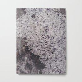 Freeze Pave Metal Print