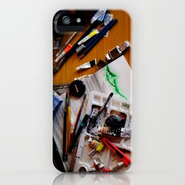 art background,  iPhone Case