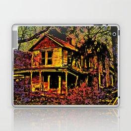 Happy Haunted House Laptop & iPad Skin