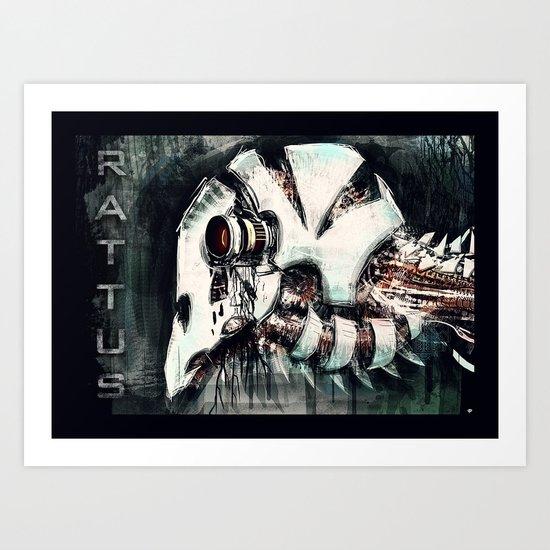 RATTUS Art Print