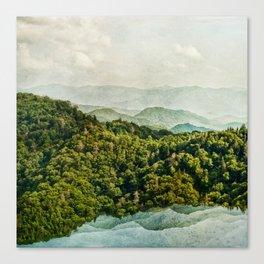 Smoky Mountain Reflections Canvas Print