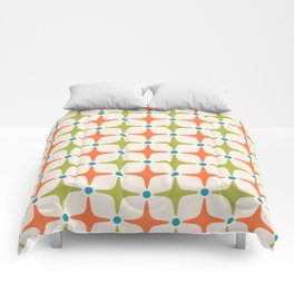 Mid Century Modern Star Pattern 822 Comforters
