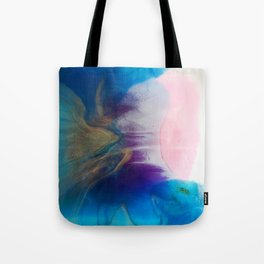 Coral beach Tote Bag