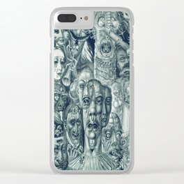 Hell by Eduard Wiiralt, 1930 Clear iPhone Case