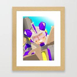 Mechanical Consternation! Framed Art Print