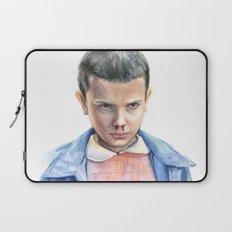 Eleven Stranger Things Watercolor Portrait Laptop Sleeve