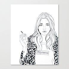Kate M. X Supreme Canvas Print