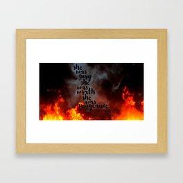 Fury, Wrath, Vengeance Framed Art Print