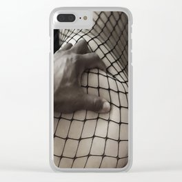 Body Stocking Clear iPhone Case