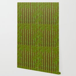 Bamboo Forest Pattern! Wallpaper