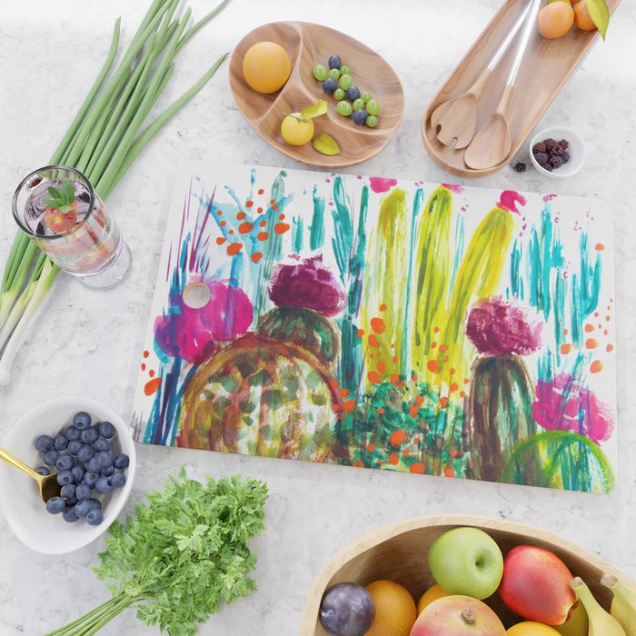 Cabana Plants Cutting Board
