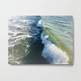 Ocean Green Metal Print
