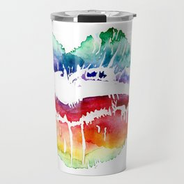 Kiss Of Color Travel Mug