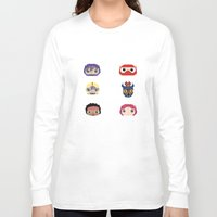 big hero 6 Long Sleeve T-shirts featuring Big Hero 6 by Alison V.