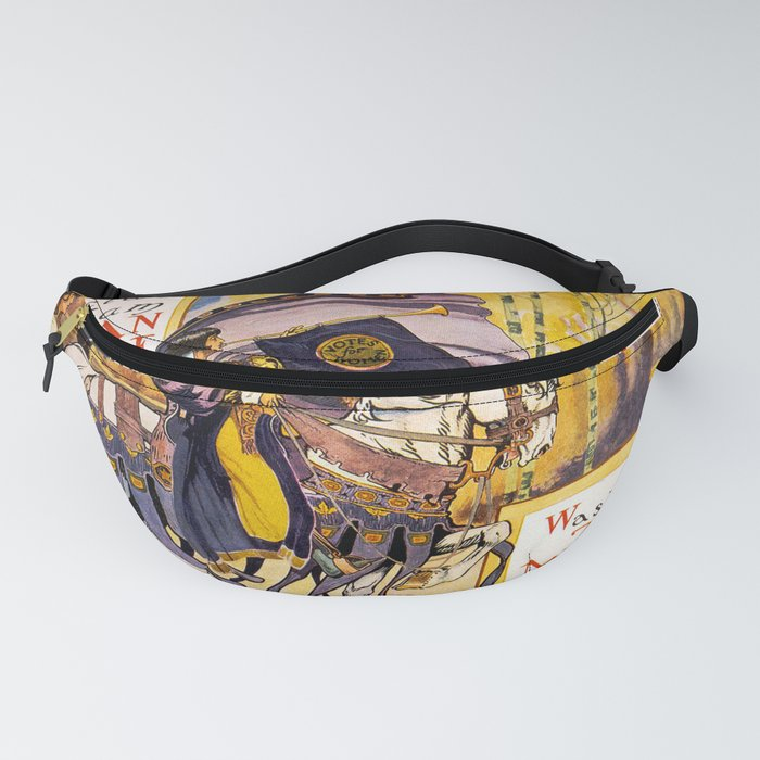 Women's March On Washington, Votes For Women, Women's Suffrage Fanny Pack