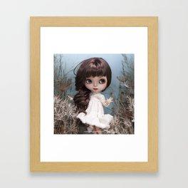 ERREGIRO BLYTHE DOLL IN HERE Framed Art Print