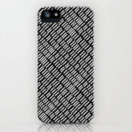 Linear Dash iPhone Case