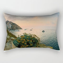 Hamilton Cove, Catalina Island Rectangular Pillow