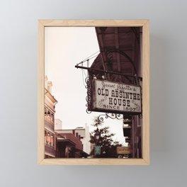 Old Absinthe House - New Orleans Framed Mini Art Print